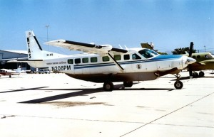 The Cessna 208 Caravan is used by numerous cargo carriers all over the world.