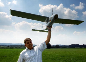 This small UAV from Headwall Photonics can be used by farmers to better monitor their crops.