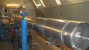 A future test rocket in production.