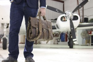The Classic Flight Bag will make a statement every time you fly.
