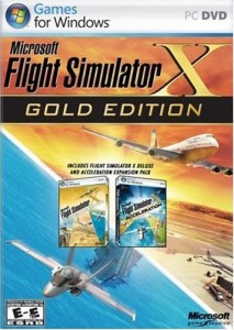 Microsoft Flight Simulator X will provide hours of entertainment.