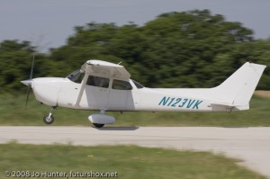 My first small aircraft flight was in this plane.