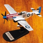 P-51 Mustang flown by the Tuskegee Airmen