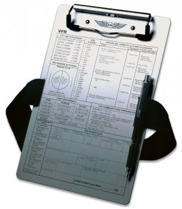 Even a simple kneeboard can provide great value.