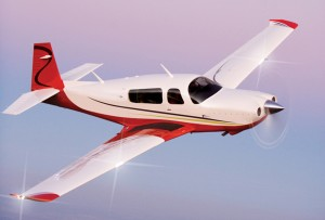 The Mooney is the fastest of the single-engine aircraft, and a joy to fly from what I hear.