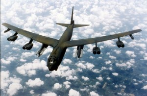 Eight engines provide a level of comfort for the B-52.