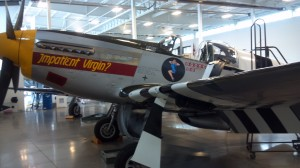 This P-51 Mustang, Impatient Virgin, is just one aircraft that will be on display at Historic Flight Foundation during the event.