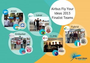 The five Airbus finalists.