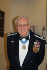 This image, from the Goodfellow AFB website, is from 2007 and shows some of the awards Bud Day received including the Congressional Medal of Honor.