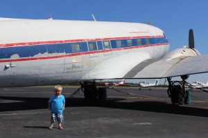 My favorite little #Avgeek growing his love of aviation even more.