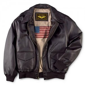 Leather jackets are something that have always been synonymous with flyers.