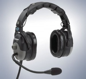 The Telex Stratus 30 has active noise reduction to help keep things quiet.