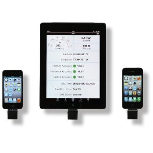 The cheapest way to go is attaching a GPS receiver to your iPad, phone, or other device.