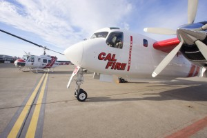 These Cal Fire aircraft inspired much of the movie.