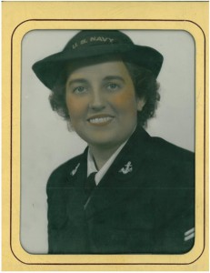 I only recently learned of my Grandma's involvement in the Navy.