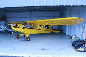 The first attempt to fly didn't get much past the hangar, but even there she sure is pretty.